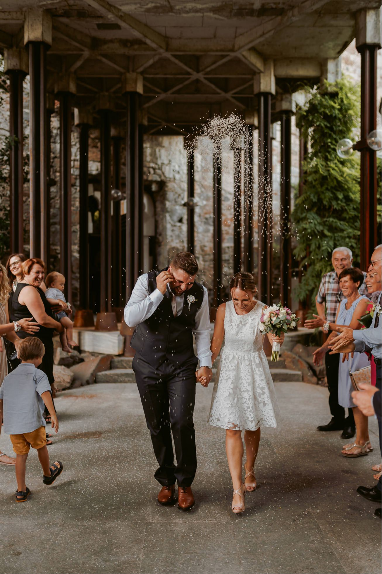 Ljubljana castle Dvor jezersek Wedding Photographer 39