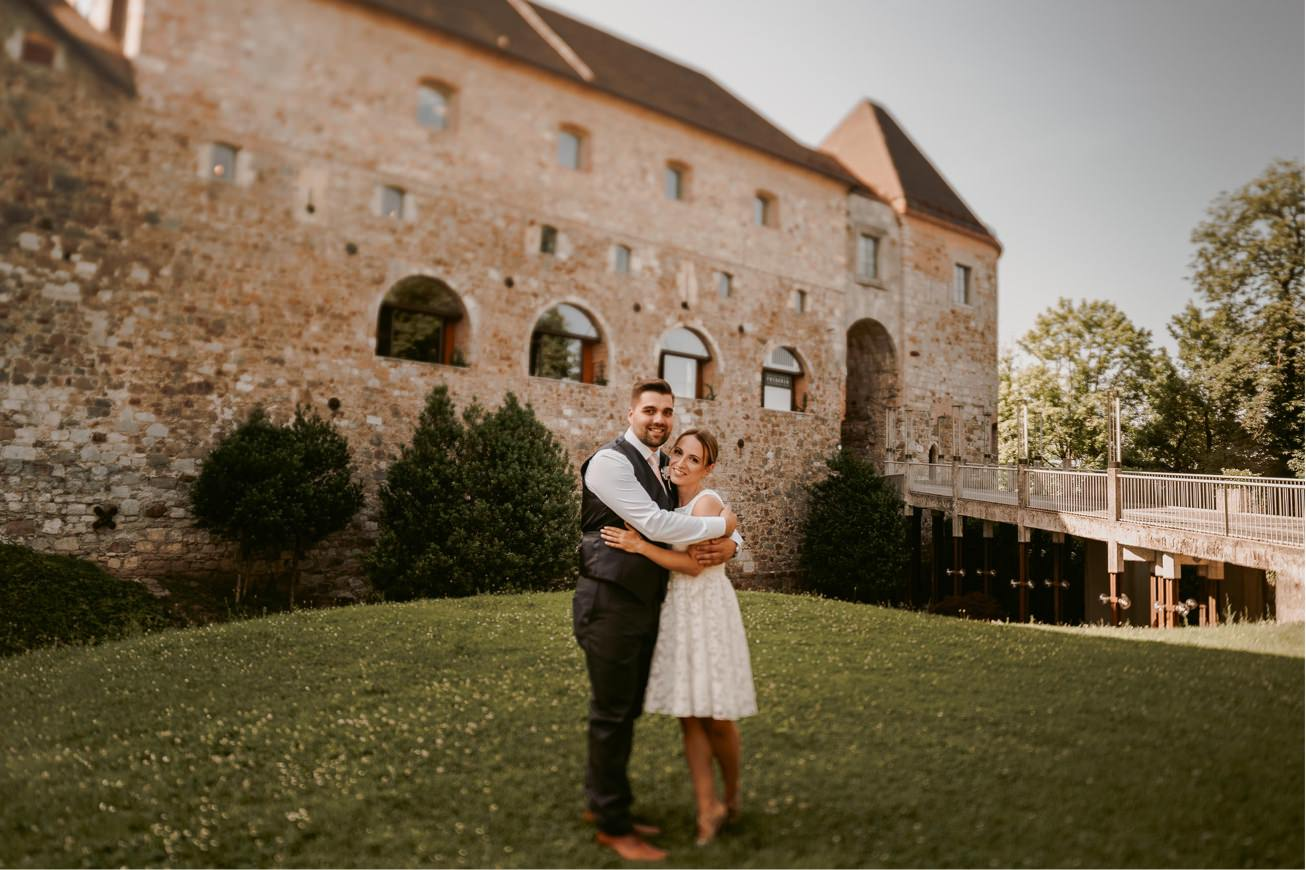 Ljubljana castle Dvor jezersek Wedding Photographer 5