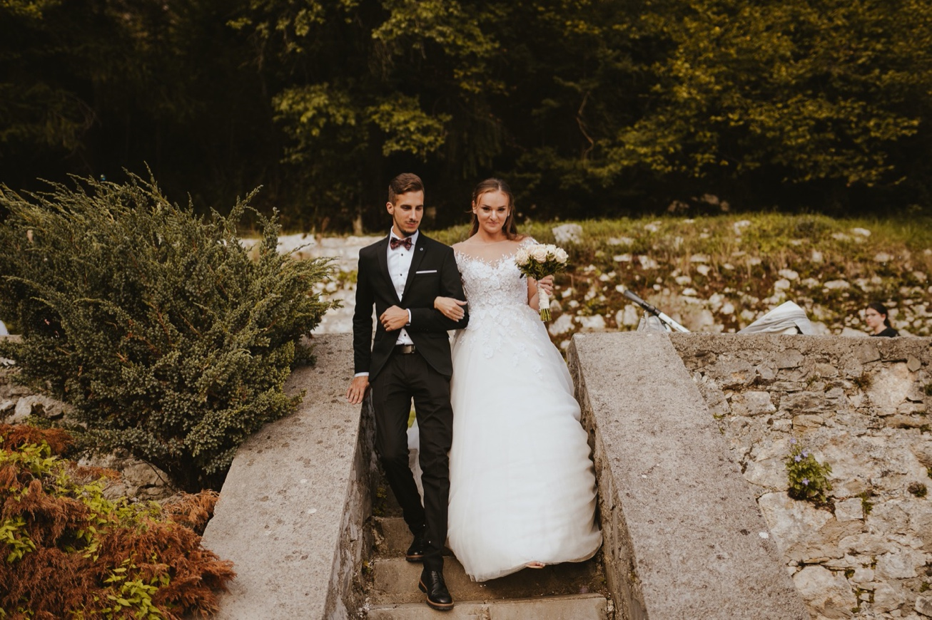 52 princess castle wedding predjama postojna