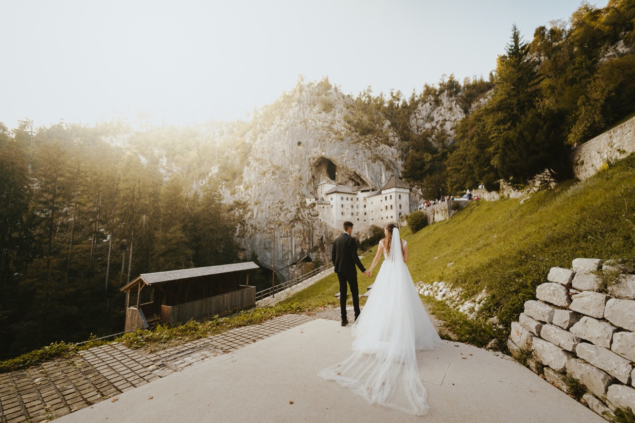 66 princess castle wedding predjama postojna