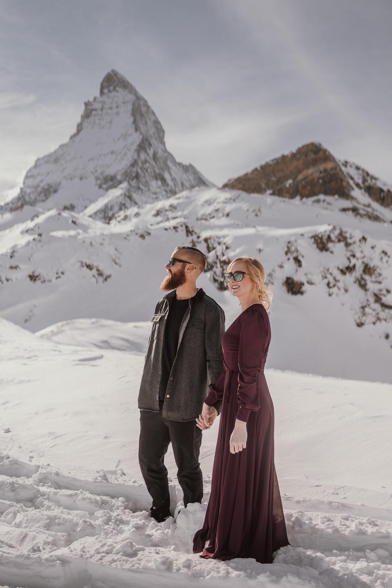 16 zermatt honeymoon wedding photographer photographer switzherland elopement