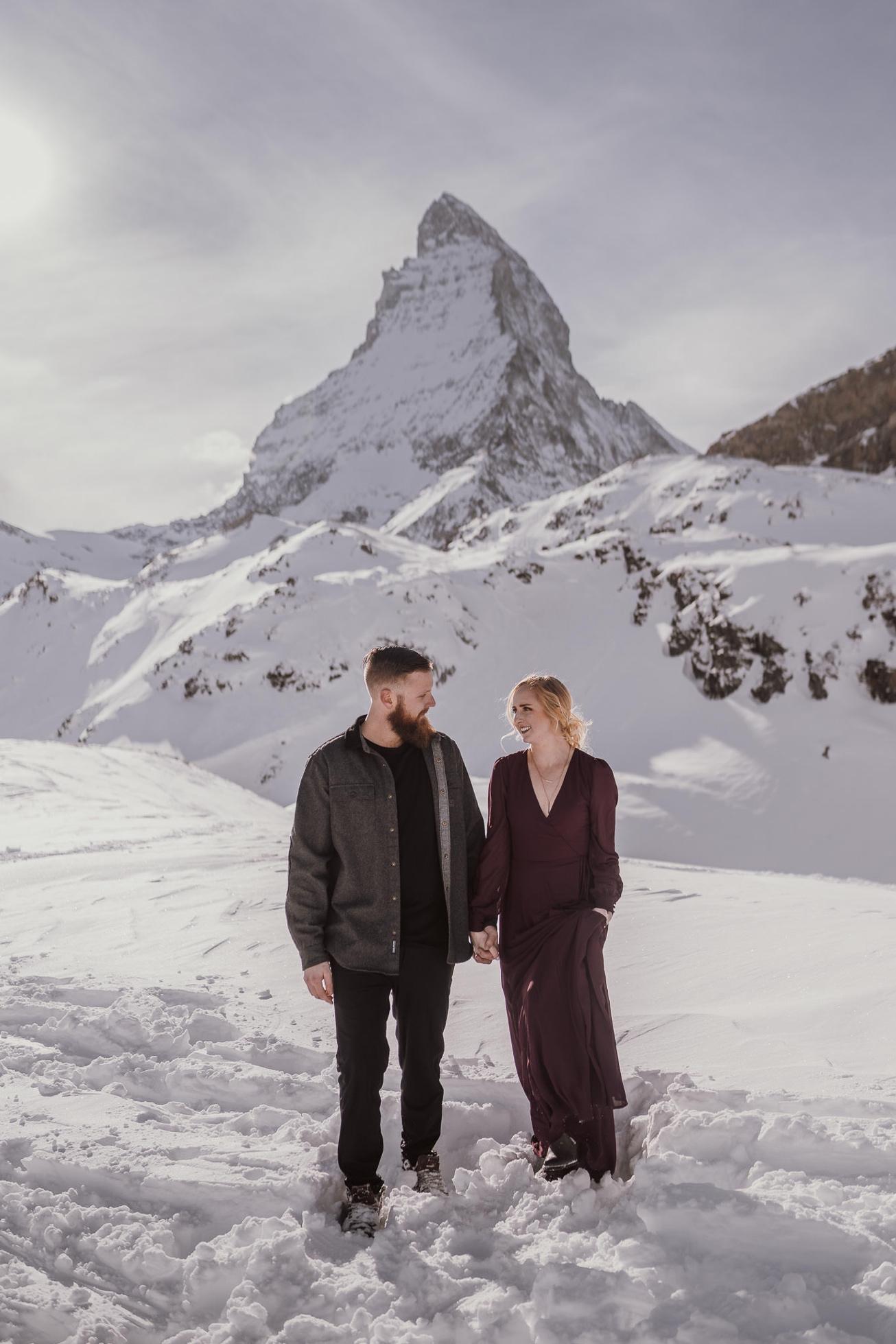 24 couple session matterhorn photographer elopement proposal