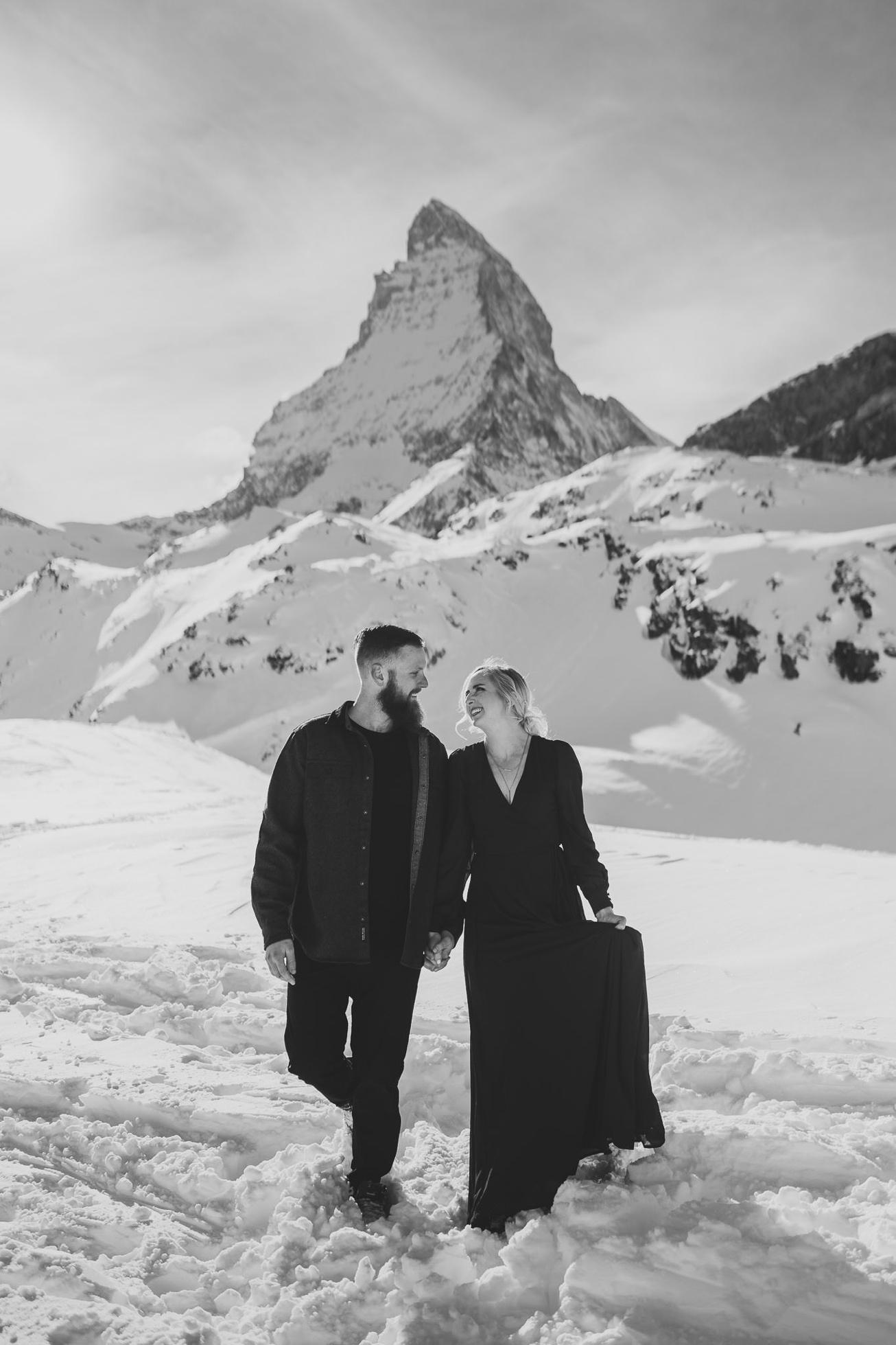 25 couple session matterhorn photographer elopement proposal