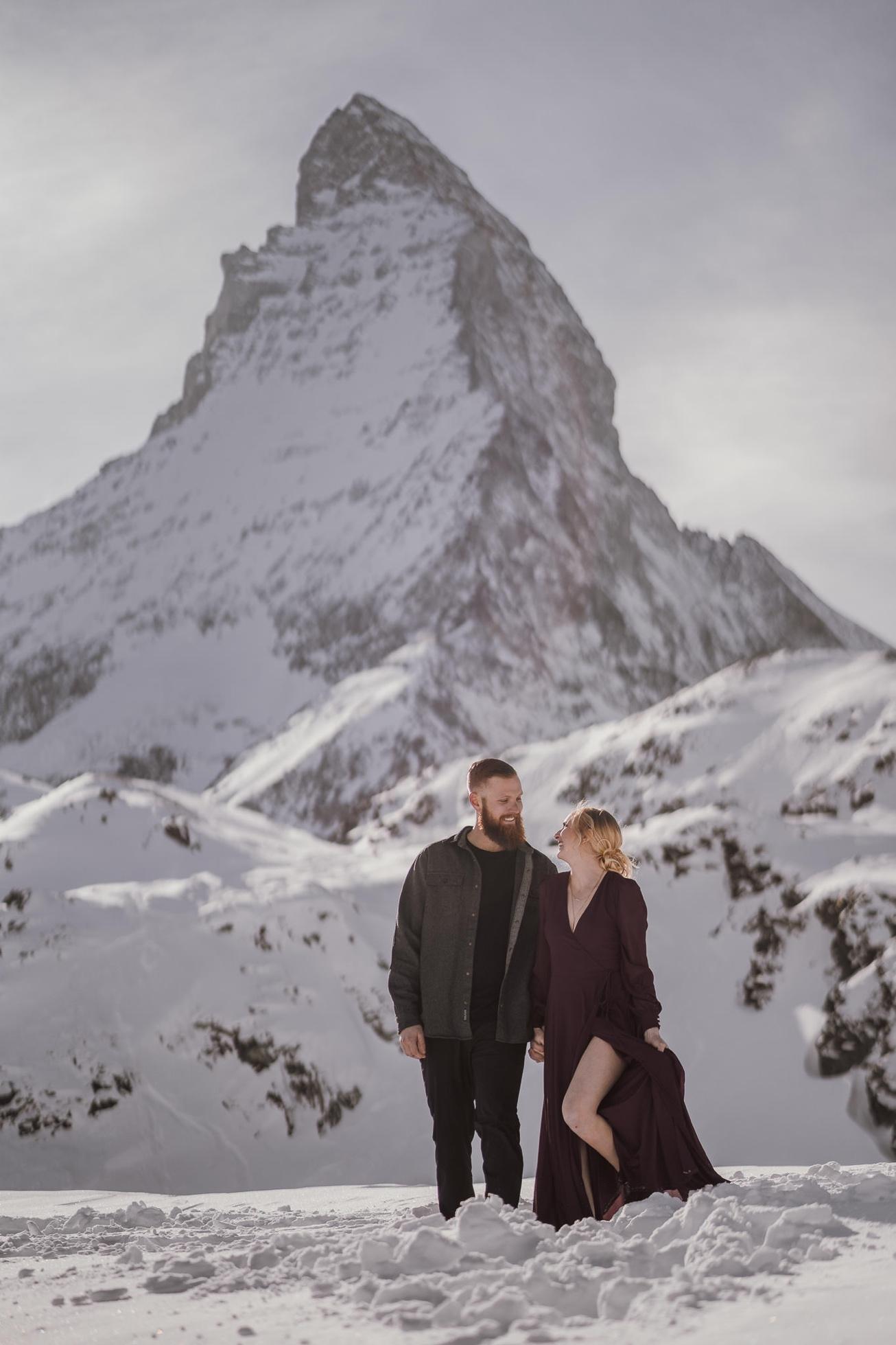 26 couple session matterhorn photographer elopement proposal
