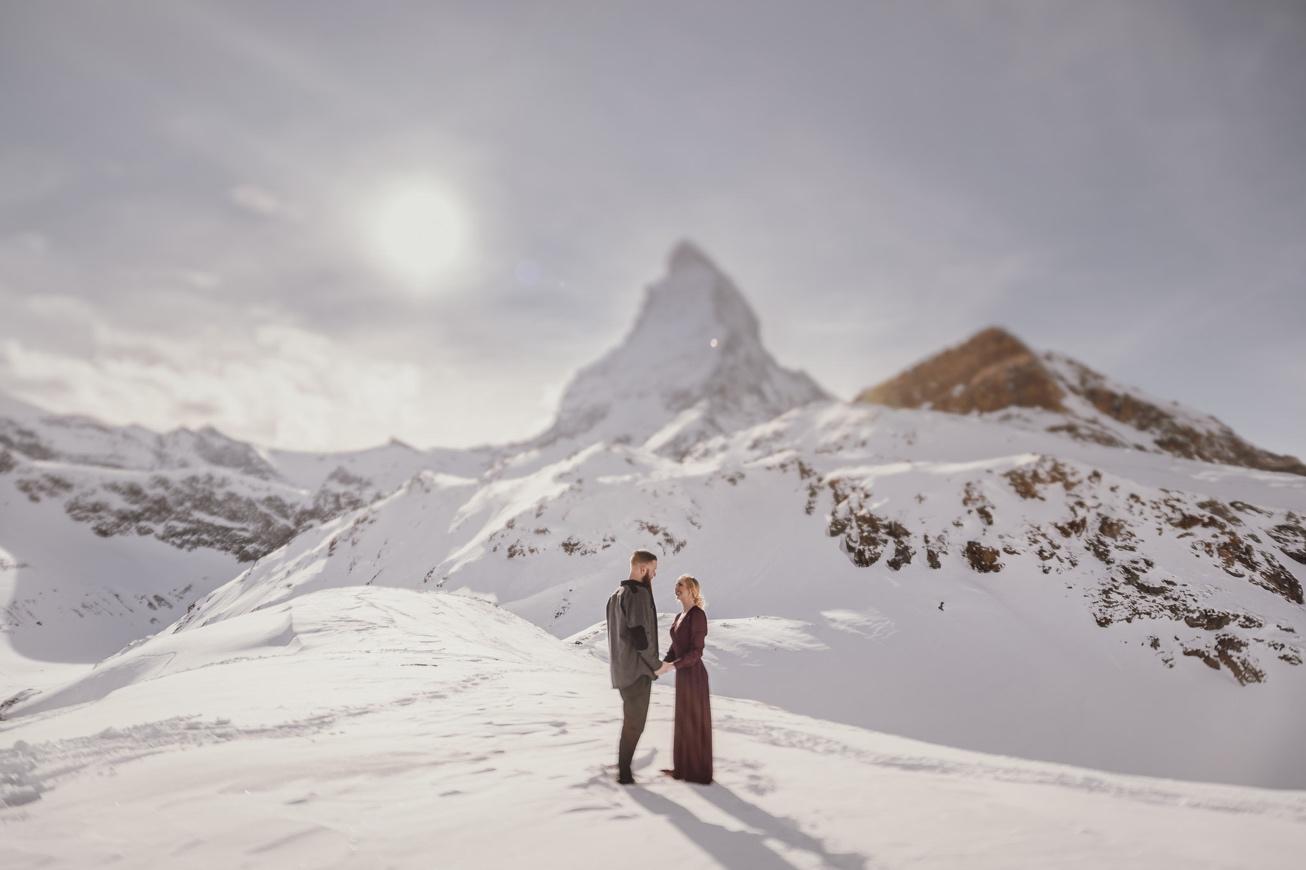 29 couple session matterhorn photographer elopement proposal