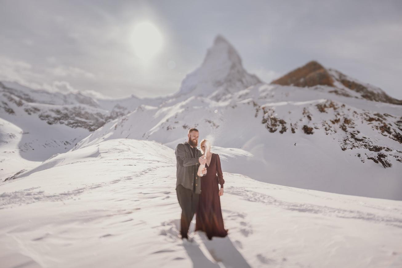 37 couple session matterhorn photographer elopement proposal