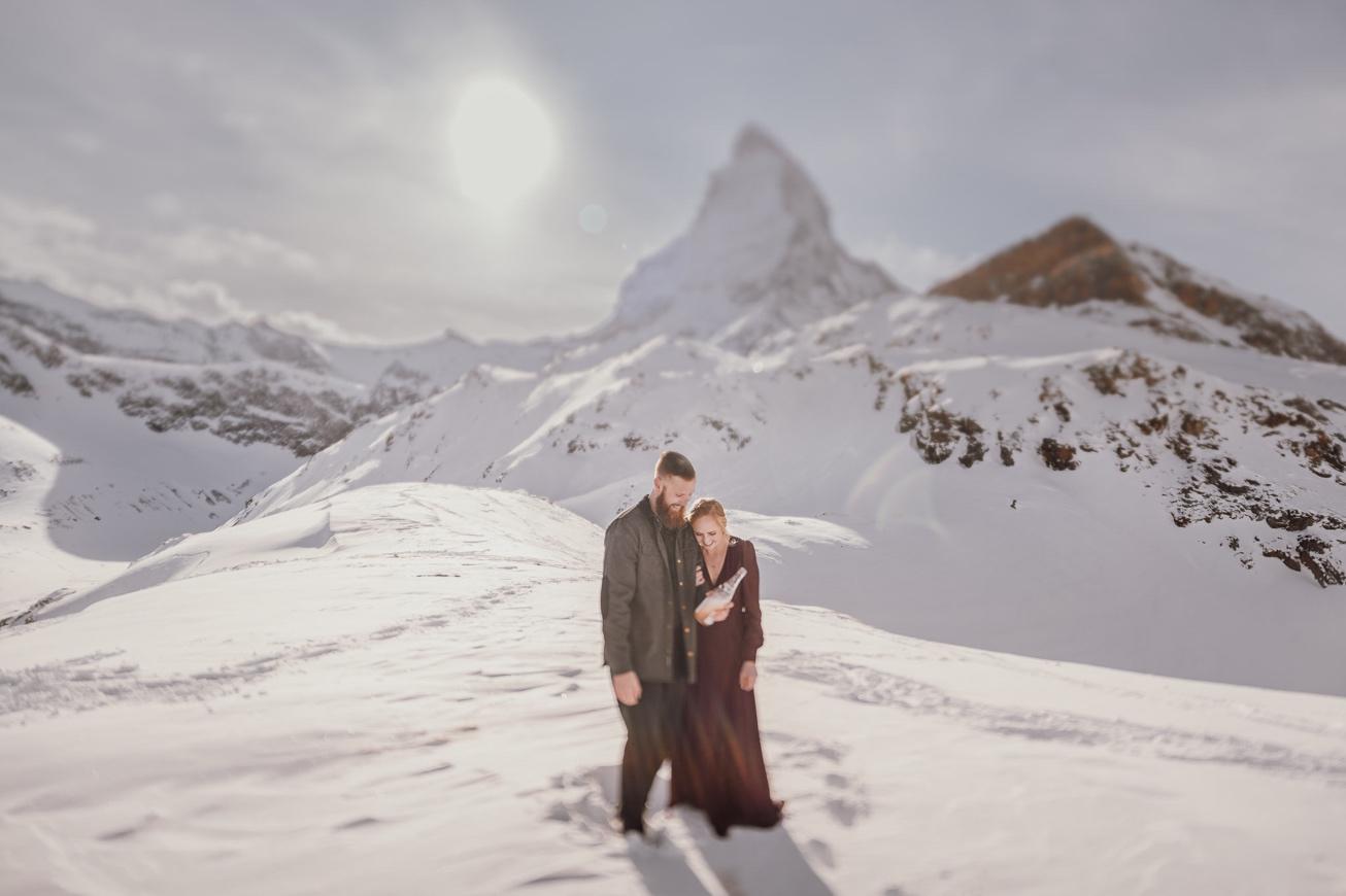 39 couple session matterhorn photographer elopement proposal