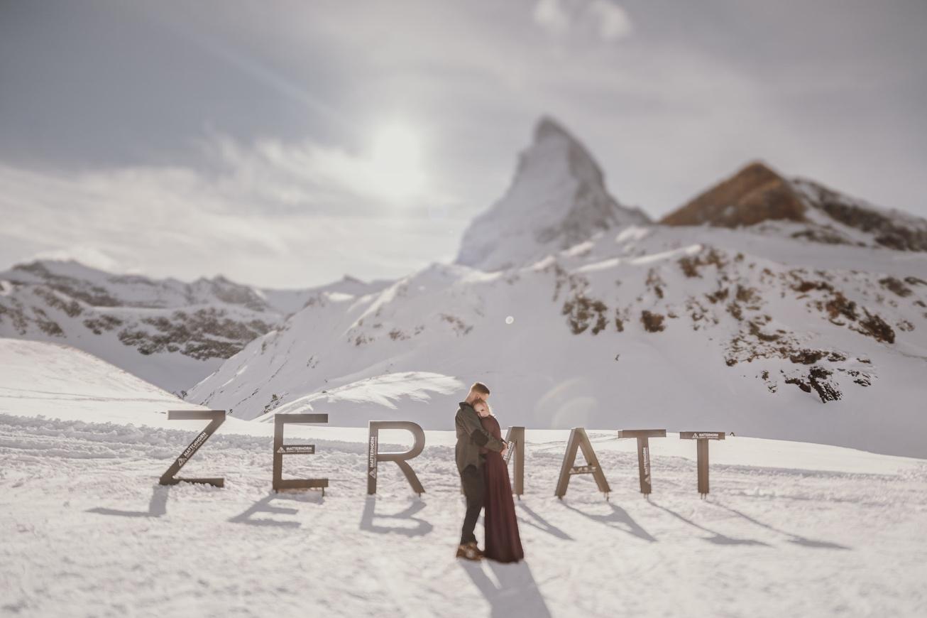 45 couple session matterhorn photographer elopement proposal