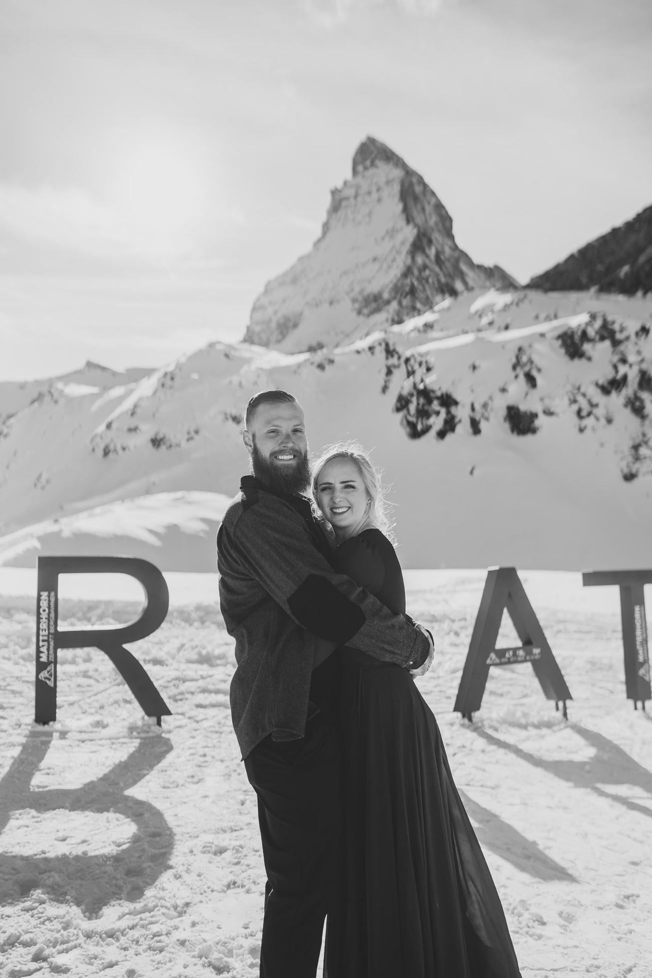 47 couple session matterhorn photographer elopement proposal