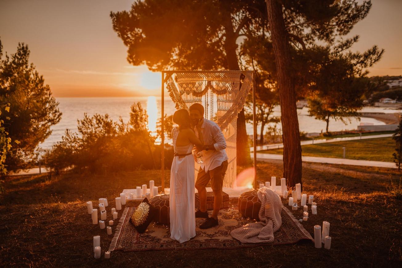 Rovinj Istra Croatia Wedding Photographer Secret Proposal Couple Session 10