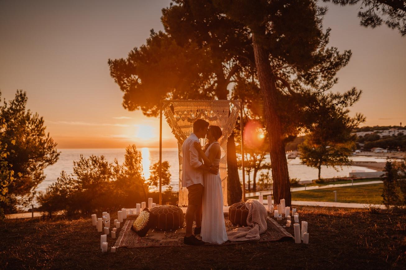 Rovinj Istra Croatia Wedding Photographer Secret Proposal Couple Session 12