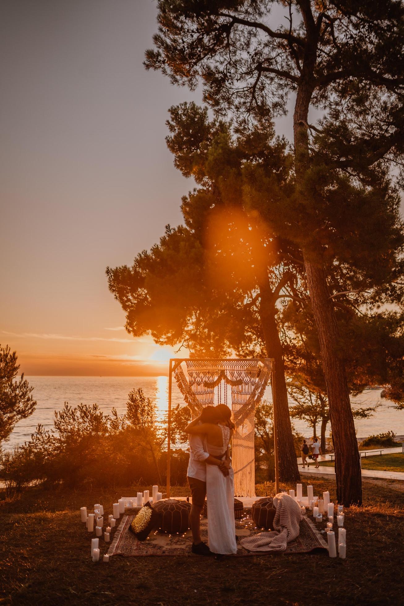 Rovinj Istra Croatia Wedding Photographer Secret Proposal Couple Session 16