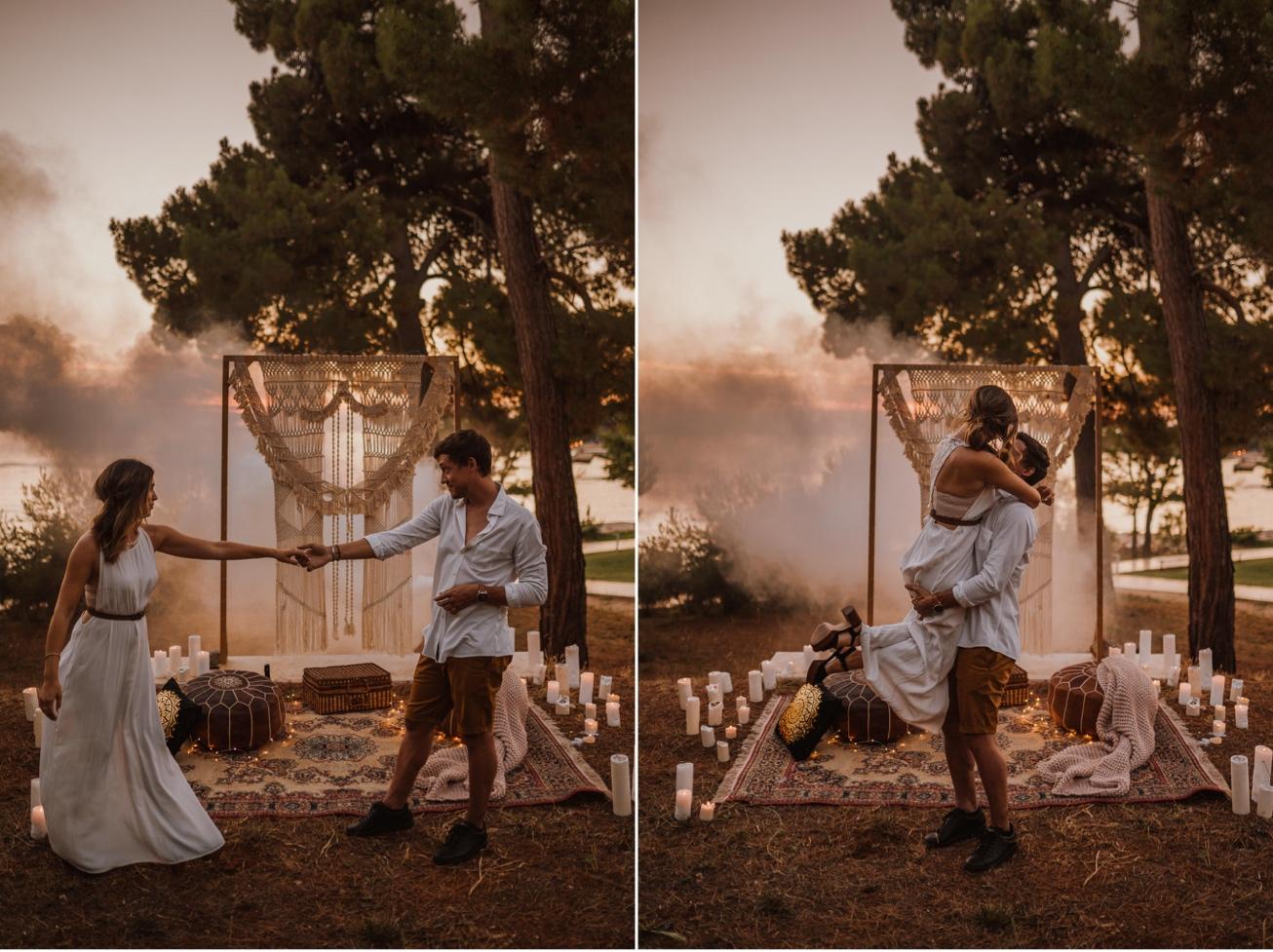 Rovinj Istra Croatia Wedding Photographer Secret Proposal Couple Session 27
