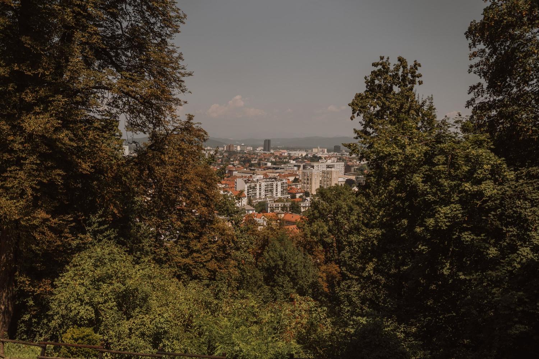 Slovenia Ljubljana Castle Porocni fotograf Wedding photographer