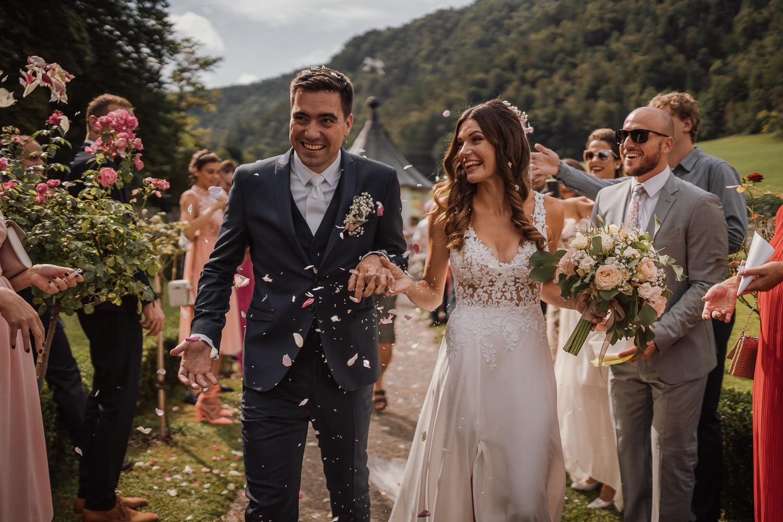Slovenia Ljubljana Tivoli Svicarija Wedding Photographer